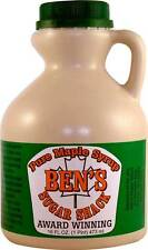 Ben's Sugar Shack New England Pure Maple Syrup - Case of 12 Award Winning! Save!