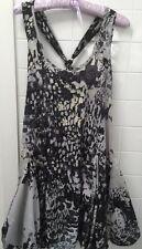 Warehouse Size UK 6 Aus 8-10 Leopard Print Beach Party Casual Dress EUC