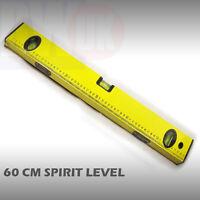 """60cm professional Spirit Level aluminium 24"""" 600mm diy Ruler Builders TY8"""