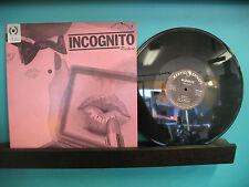 Incognito Rockers – Incognito Rockers S/T - Hard Rock Vinyl LP From Vista CA