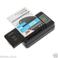 Universal Akku-Ladegerät LCD-Anzeige Bildschirm For Cell Phones USB-Port Sale