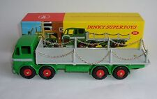 Atlas / Dinky Toys No. 935, Leyland Octopus Flat Truck with Chains Superb Mint