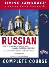 LL Complete Basic Courses: Russian : Complete Course by Living Language Staff CD