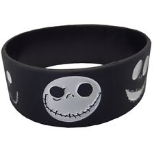 Nightmare Before Christmas Jack Skellington 25mm Silicon Rubber Wristband