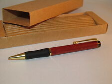 Personalized Laser Engraved Rosewood Comfort Grip Pen Nice Gift