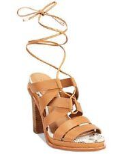 NIB Calvin Klein Women's Panelope Toscana Almond Tan Leather - 8.5M