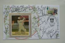 1994 CRICKET FDC SIGNED BY 20 . BARRY RICHARDS, COWDRAY, D.BIRD, CROFT,  ETC