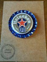 BOTTLE CAP FRIDGE MAGNET HEINEKEN NO ALCOHOL.