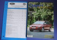Revue technique l'expert automobile 454 Ford focus 09/2004> Diesel 1.6 1.8 TDCi
