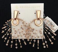 New Kendra Scott Fabia Earrings in Rose Gold Blush $250.00