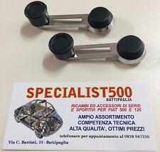 FIAT 500 F/L/R  COPPIA MANIGLIA ALZAVETRO MODELLO SIMILE ALL'ORIGINALE 500 L