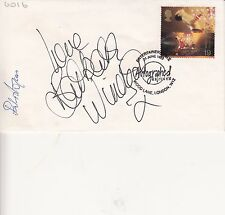 Barbara Windsor/Peter Rodgers Autographed on Entertainers Tale