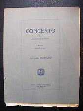 Partition Concerto pour Hautbois Jacques Murgier Music Sheet