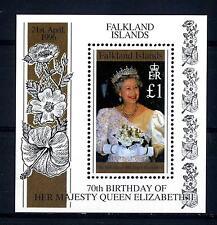 FALKLAND ISLANDS - BF - 1996 - 70° compleanno della Regina Elisabetta II°