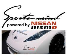 """""""Sports recordar"""" Accionado por ~ * Nissan Nismo * ~ panel de carrocería Adhesivo Calcomanía"""