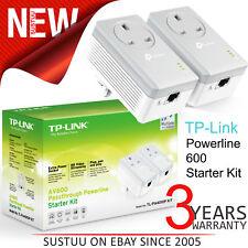 Tp-Link AV600 Passthrough-Buchse Powerline Starter Kit TL PA4010P V2 │