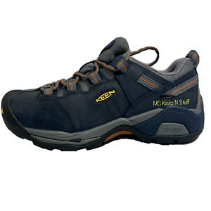 Keen Detroit XT ST Steel Toe 1020033D EH Men's Size 8 D Navy Brand New In Box