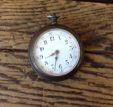 Small Swiss Pocket Watch For Parts or Repair