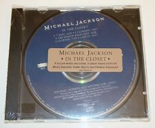 MICHAEL JACKSON IN THE CLOSET PROMO 1 CD STIСKER SEALED ESK 74266