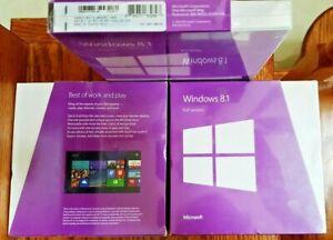 Microsoft Windows 8.1,Full Version,SKU WN7-00578,Sealed Retail Box,32-bit,64-bit