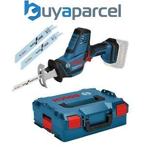 Bosch GSA 18 V-LI C Compact Reciprocating Sabre Saw - Bare + L-boxx GSA18VLIC