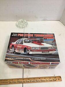 Monogram Rickie Smith's Pro Stock Thunderbird 1/24 Scale Open Inside Sealed