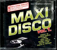 MAXI DISCO VOL.1 - FIRST PRESSING  - CD COMPILATION ITALO DISCO