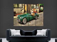 Triumph spitfire classic car vintage huge poster art imprimé large