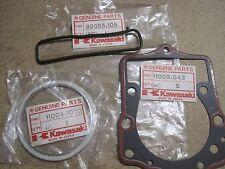 KAWASAKI NOS CYLINDER HEAD & BASE GASKET & O RING KLX250 KL250 KLT250 KZ250 Z250