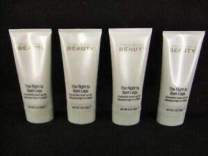 (4) Joan Rivers Beauty~The Right to Bare Legs Corrective Cover-Up~Fair~3 Oz. New