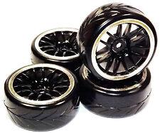 Treno 4 Gomme 1/10 DRIFT Tyres hsp rk kyosho traxxas thunder tiger ruote tires