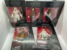 Star Wars Black Series Solo Movie Lot (Han Solo, Lando, Chewbacca, Troopers)
