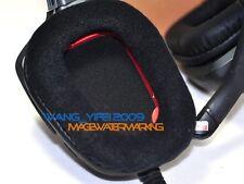 VELOUR EAR PADS Cuscino per LOGITECH G35 G930 G430 F540 G230 Cuffie Gaming