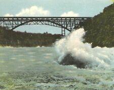 Postcard Whirlpool Rapids Bridge Niagara River Niagara Falls Canada Ottawa