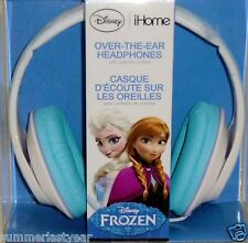 Anna And Elsa I-Home Over-The-Ear Headphones Disney Frozen Free Shipping