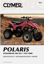 CLYMER SERVICE REPAIR MANUAL POLARIS SCRAMBLER 500 4WD 1997-2000 4X4 00 99 98 97
