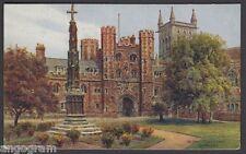 A R QUINTON POSTCARD - St. John's College Gate Cambridge *1555 update