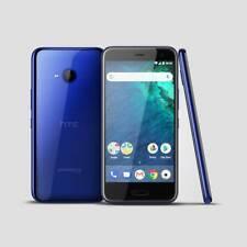 USED HTC U11 Life 2Q3F300 32GB Sapphire Blue T-Mobile Unlock. WHITE SPOTS ON LCD