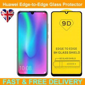 9D Edge to Edge Tempered Glass Screen Protector For Huawei P Smart Z