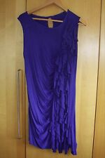 Electric blue, jersey cocktail dress - size 14-16