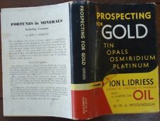 Prospecting for Gold by Ion L. Idriess - 1962 - Reprint - Australiana, Hardcover