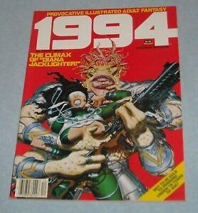 December 1982 WARREN 1994 FANTASY ILLUSTRATED MAGAZINE # 28 FRANK THORNE GHITA
