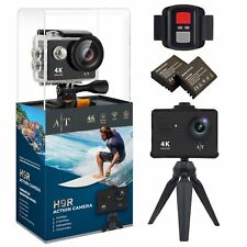 H9S Action Camera 4K Waterproof Wifi Sports Camera Full HD Bundle + Accessories