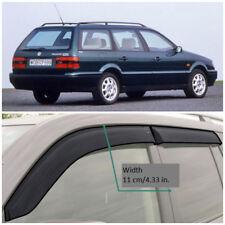 VE21288 Window Visors Vent Wide Deflectors For VW Passat B3/B4 Wagon 1988-1997