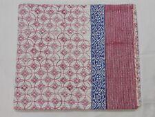 Kantha Quilt Indian Handmade Hand Block Print Bedspread DIWALI OFFER