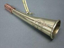 Messing Stethoskop Hörrohr Hearing Pipe Hörgerät  Ear Trumpet 15 cm mit Kette