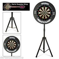 The Darts Caddy Kit, Dartboard Stand with Razor Wire Dartboard & Xtreme Surround