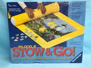 Ravensburger Puzzle Stow & Go! 46 x 26 inches Bright Felt Mat SEALED