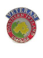 Northern Ireland British Armed Forces Veteran Lapel Pin 1969- Military Badge v2