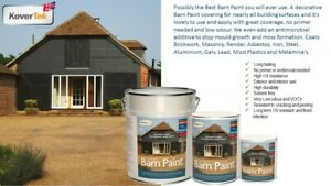 TekTor Professional Barn Paint Stables Shelters Sheds Fences Timbers Masonry